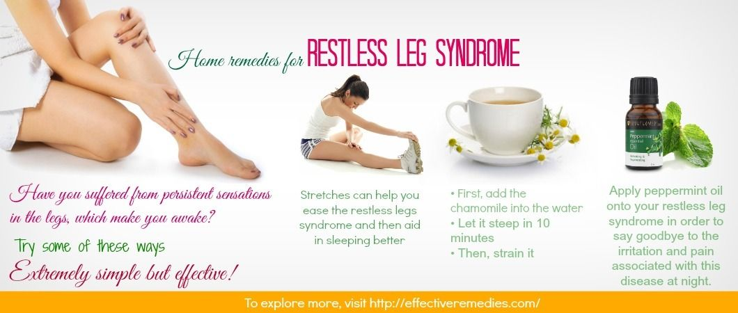Top 7 Natural Home Remedies For Restless Leg Syndrome In Adults Restless Leg Remedies Restless Leg Syndrome Restless Legs