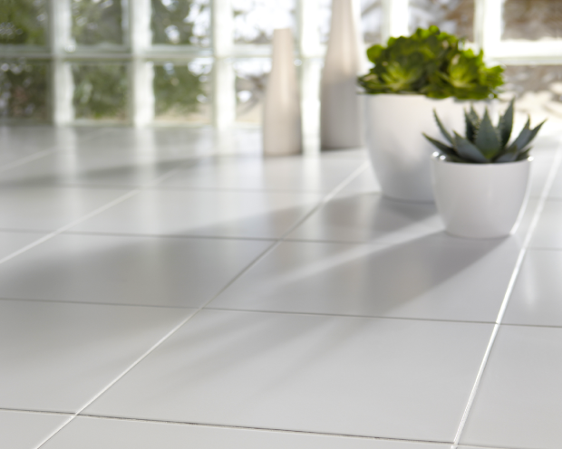 White Quartz Floor Tiles Tile Floor White Tile Floor Ceramic