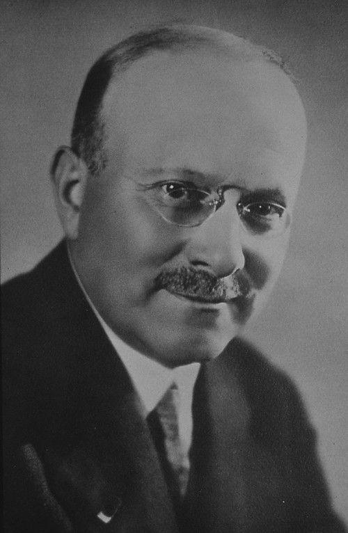 Andre Citroen(1878-1935). French Auto Engineer. Lodge la Philosophie, Paris, France.