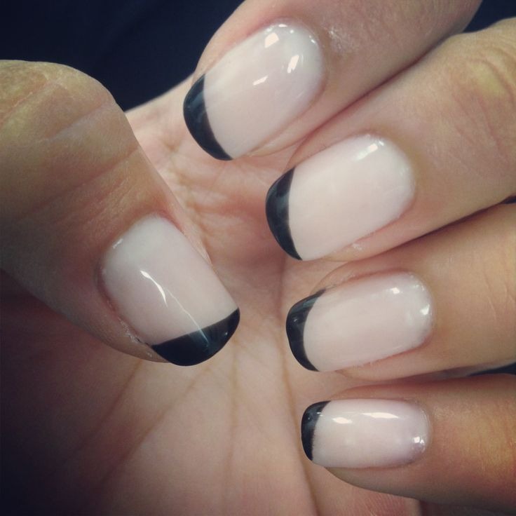 Gel Nails With French Tips - http://www.mycutenails.xyz/gel-nails ...