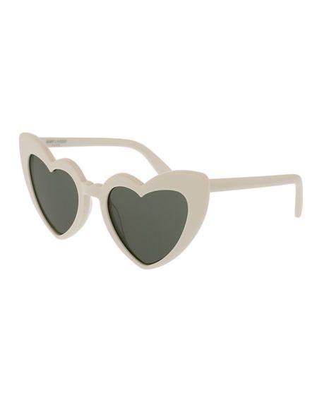fb05ac1b39f Lou Lou Oversized Heart Sunglasses