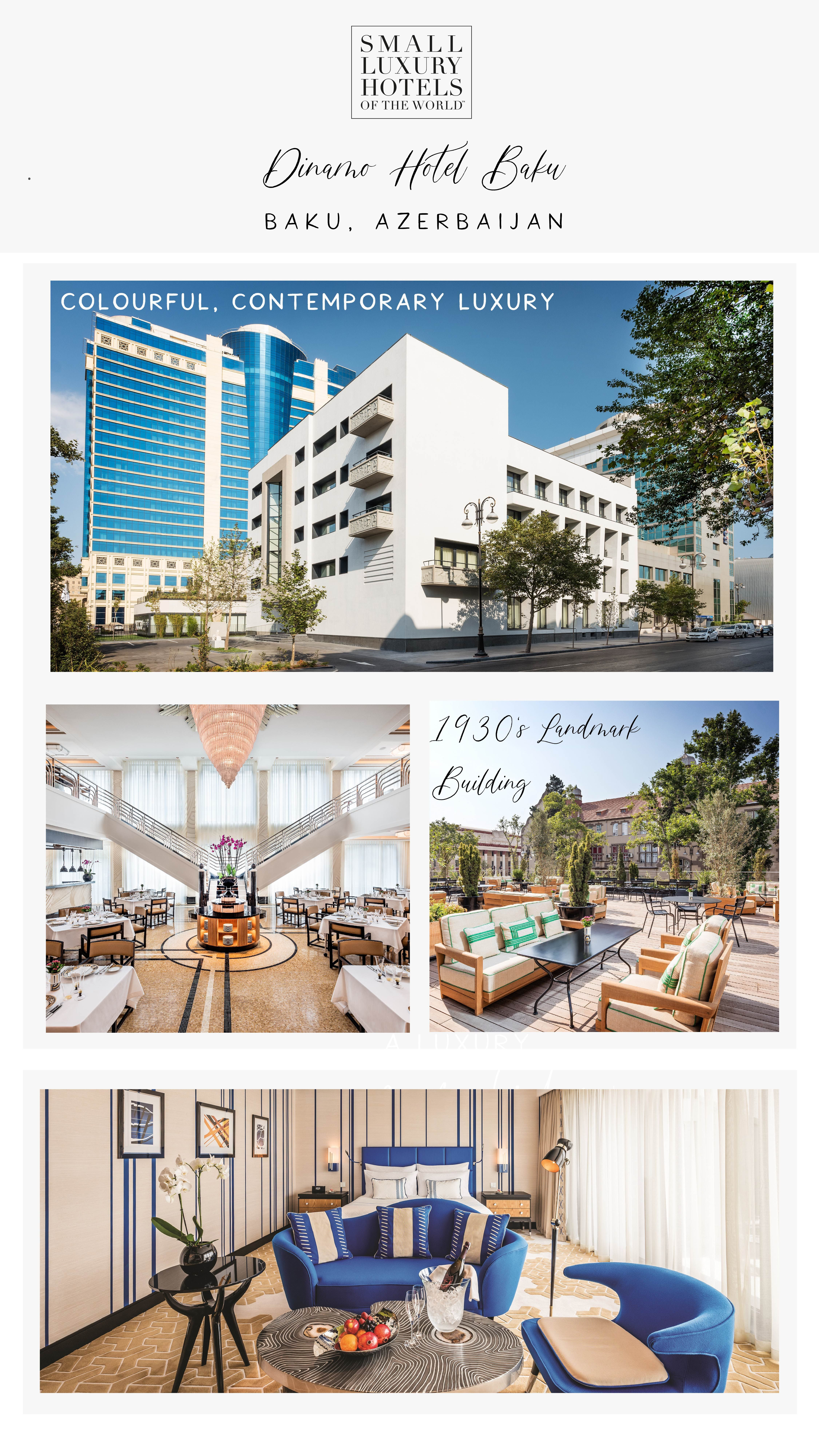 Please Welcome Our First And Only Hotel In Azerbaijan Dinamo Hotel Baku Is An Elegant City Centre Hotel With Spacious Designer Hotel Luxury Hotel Roof Design