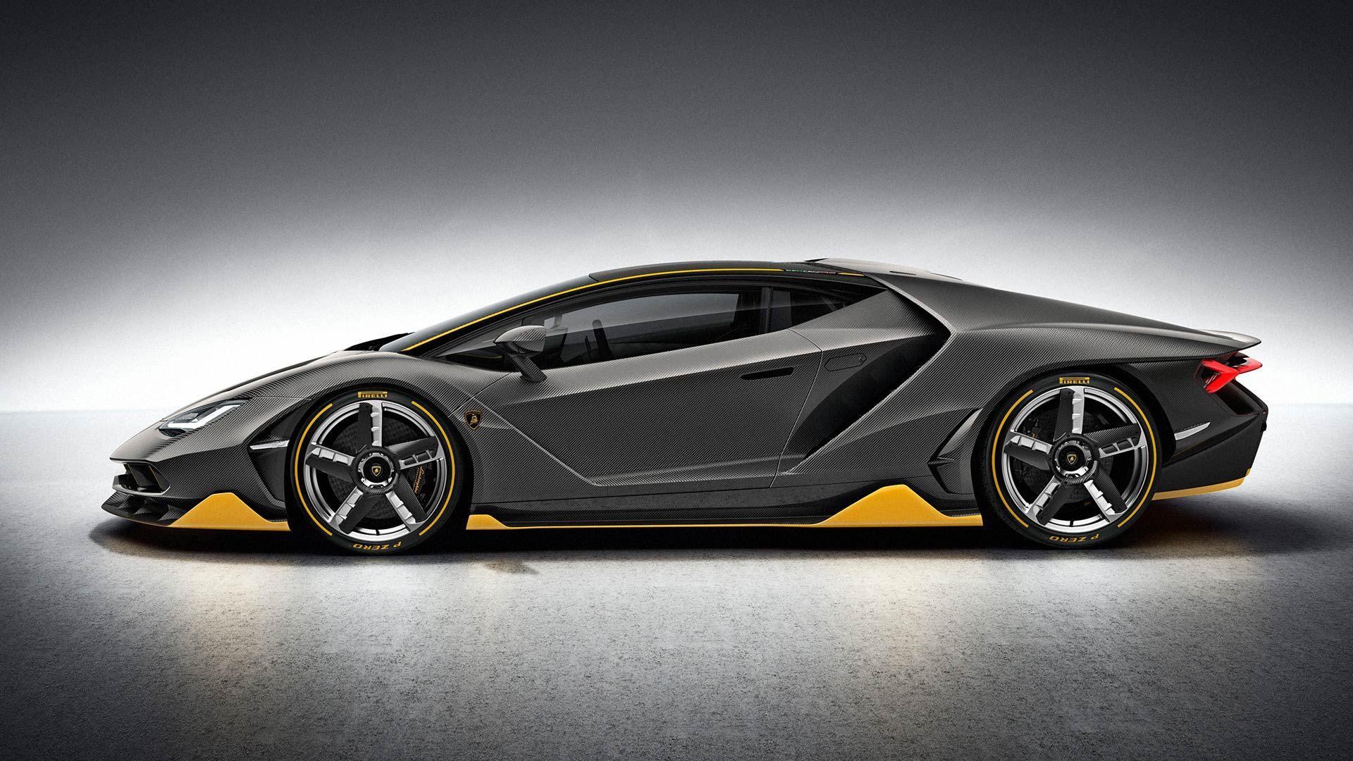 Centenario LP 770-4: Design e aerodinamica La Centenario è l'espressione più vera dell'impegno di Lamborghini nei confronti di un design innovativo e illuminante e ha permesso ai designer e agli ingegneri Lamborghini di creare in tutta libertà una concept car nella forma di una edizione limitata.