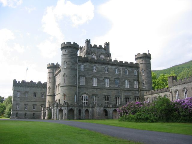 Taymouth Castle , Perth and Kinross, Scotland.