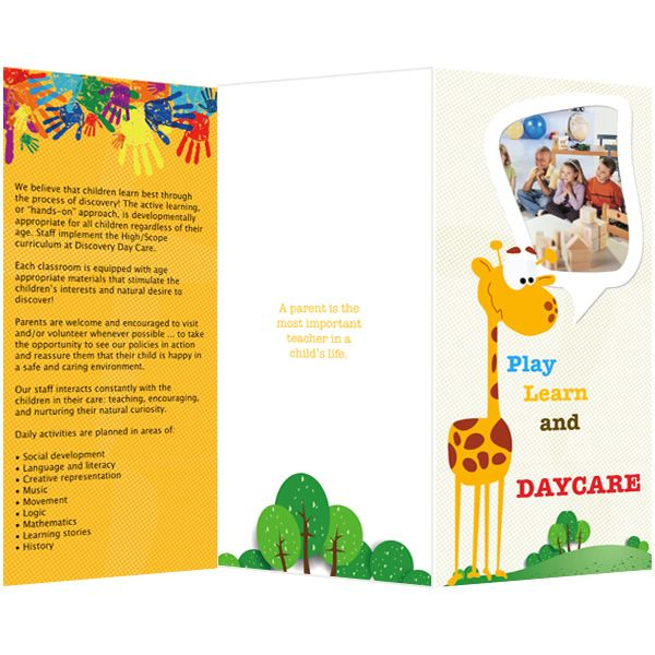 pamphlet template publisher