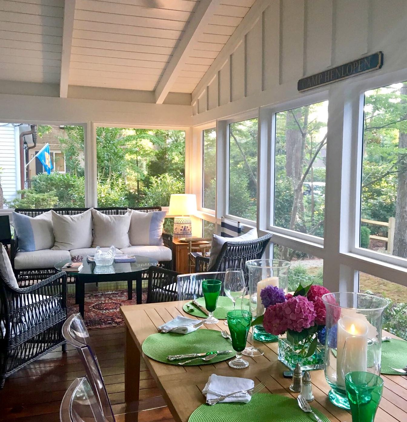 Mid Century Modern Beach Retreat Beach Home Boys Sunroom Decorating Screened Porch Decorating Sunroom Designs