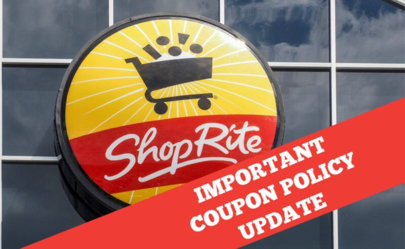 The ShopRite Coupon Policy Has Changed What You Need to