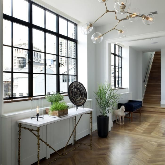 A New York Flat with a Glamorous View | Steel frame, Lofts and Window