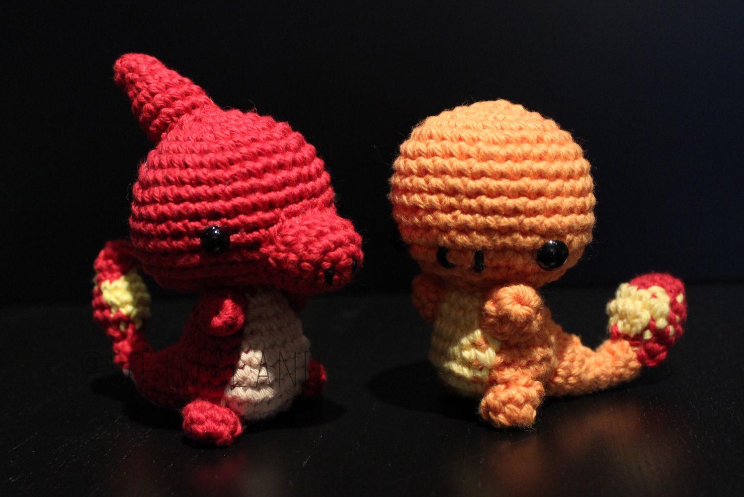 Charmander, Charmeleon; Pokemon | Pokémoni | Pinterest
