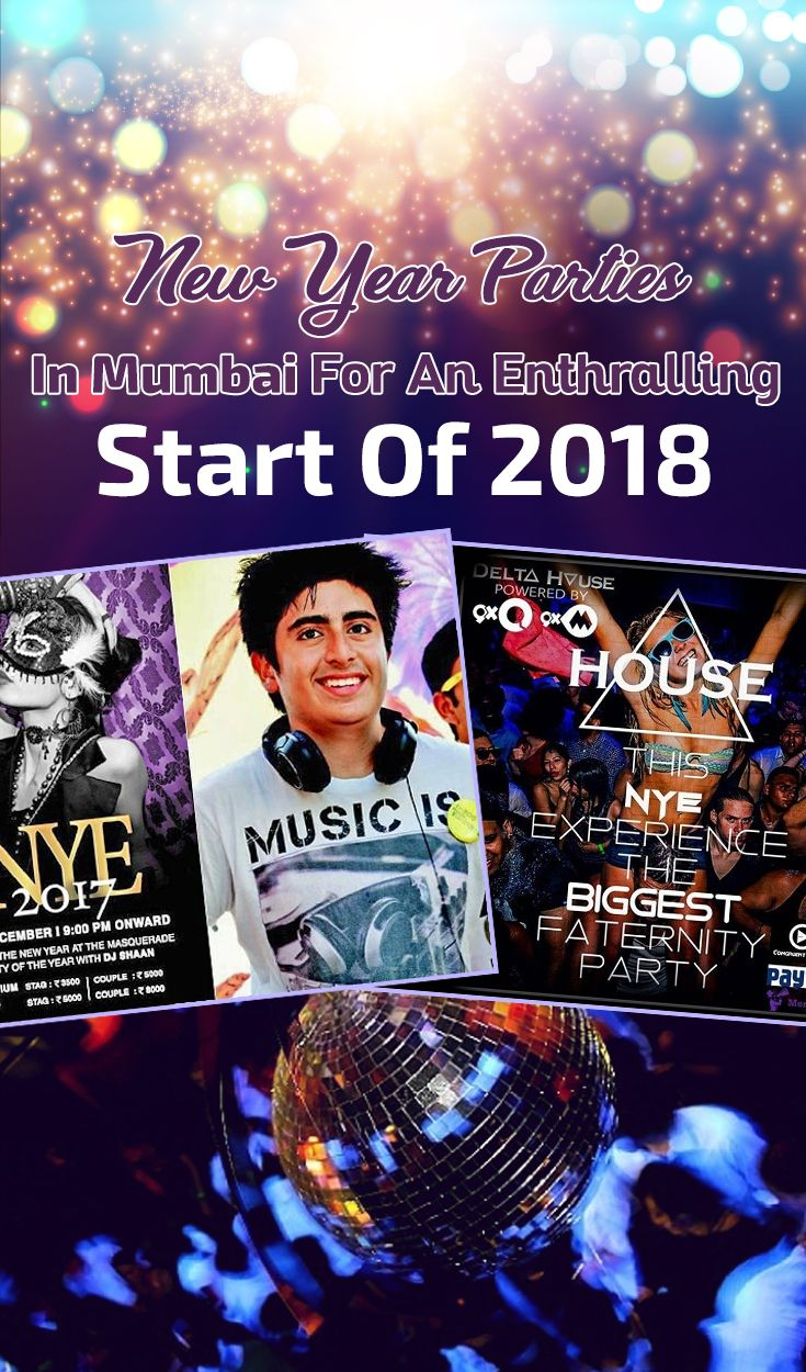 New Year Parties In Mumbai For An Enthralling Start Of
