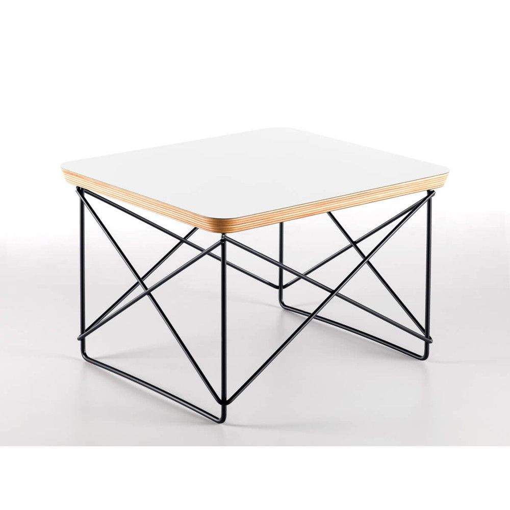 The Vitra LTR Occasional Table was designed by renowned design duo, Charles and Ray Eames.