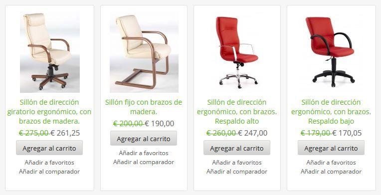 La versatilidad de nuestras sillas le proporciona comodidad en todas las áreas de trabajo, tanto en un despacho de alta dirección, como en puestos intermedios, zonas de espera, salas de reunión y multifunción.