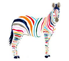 pictures of coloured zebras - Google Search