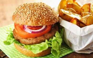 Smoked Chickpea Burger