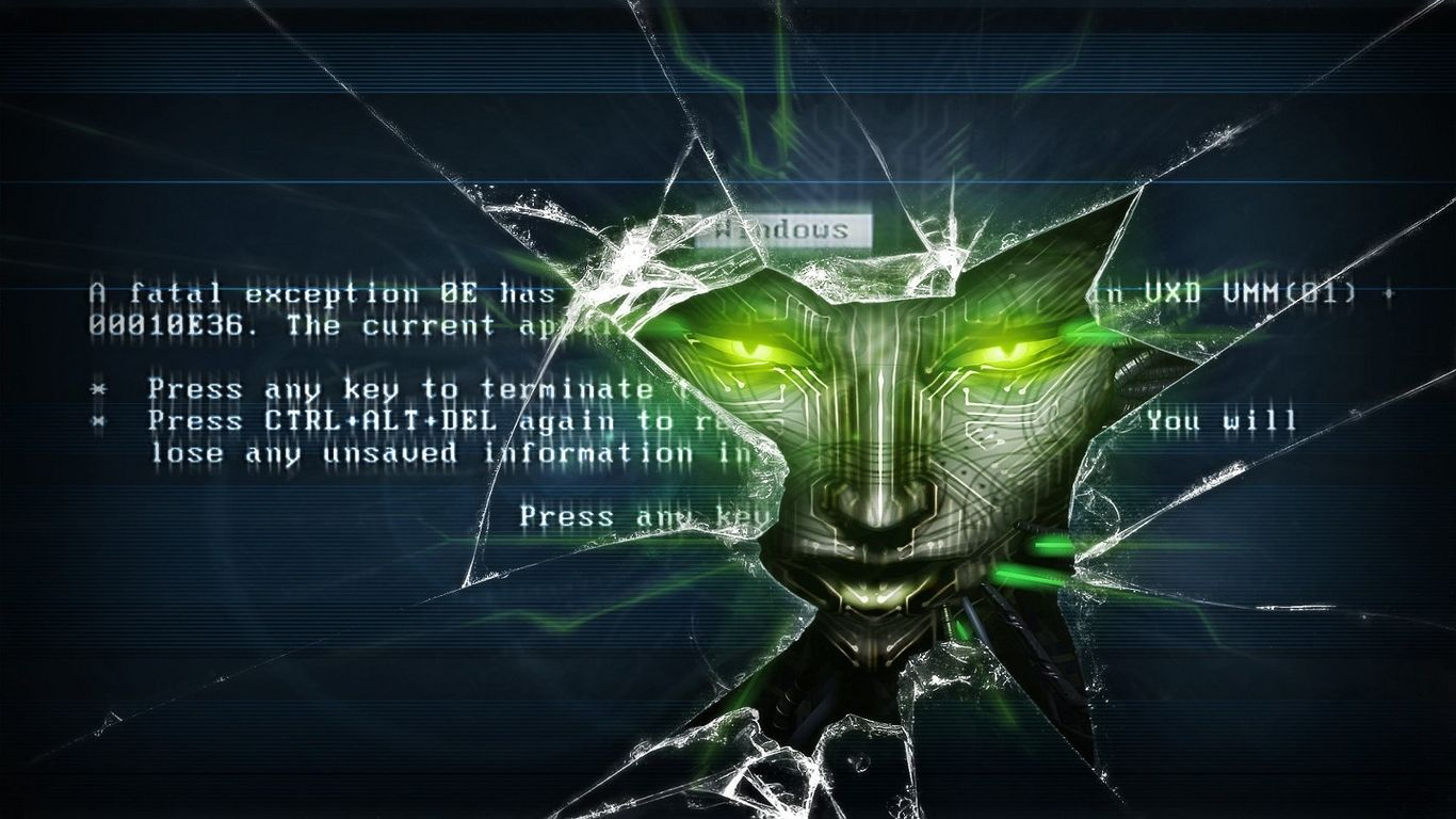 System Shock Shodan Wallpaper One Of My Favorites Out Of