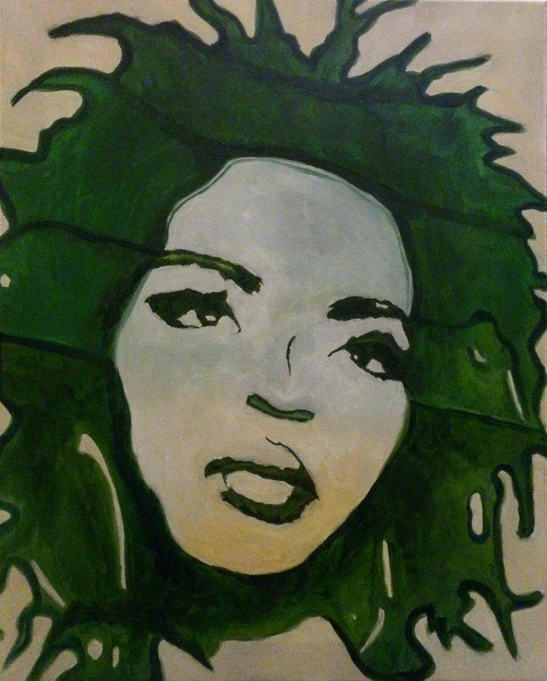 Drawing Lauryn Hill Art