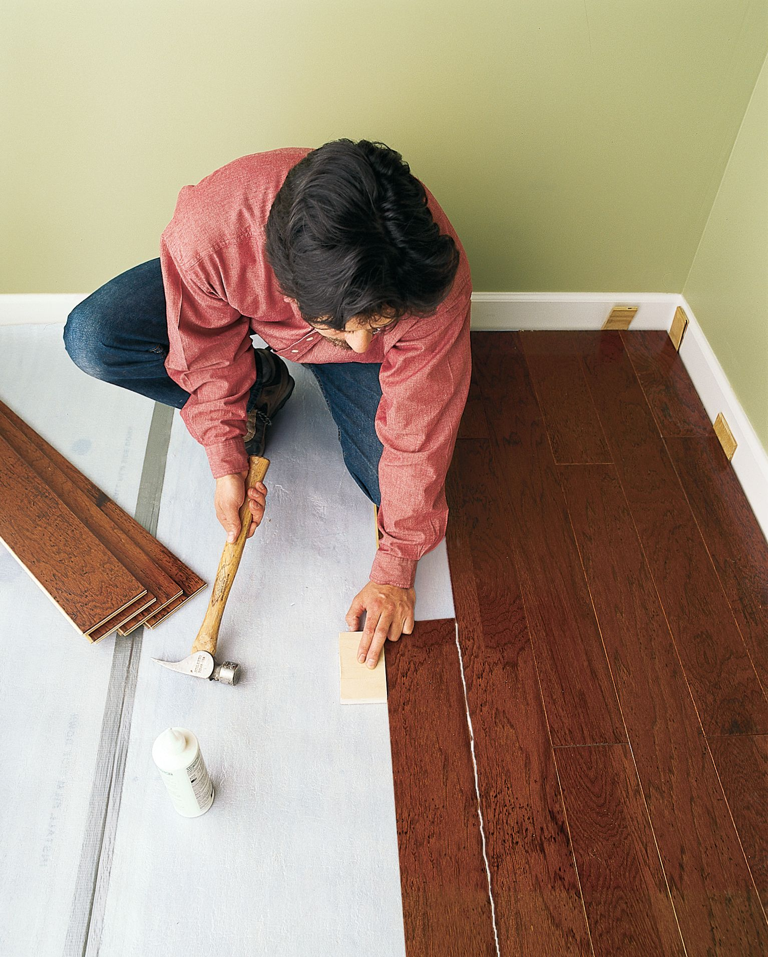 How To Install A Floating Engineered Wood Floor In 2020 Wood Floor Installation Engineered Wood Floors Wood Floors