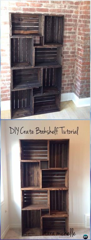 Photo of DIY Wood Crate Furniture Ideas Projects Instructions