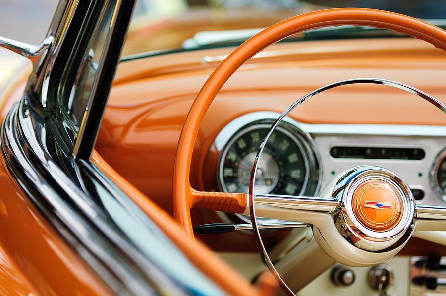 1954 Belair Steering Wheel Google Search Cool Cars Chevrolet