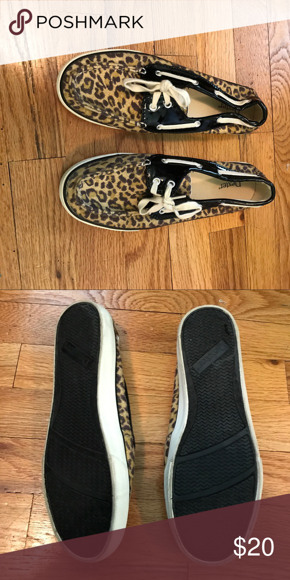 Dexter Cheetah Boat Shoes New, only worn once Shoes Flats & Loafers