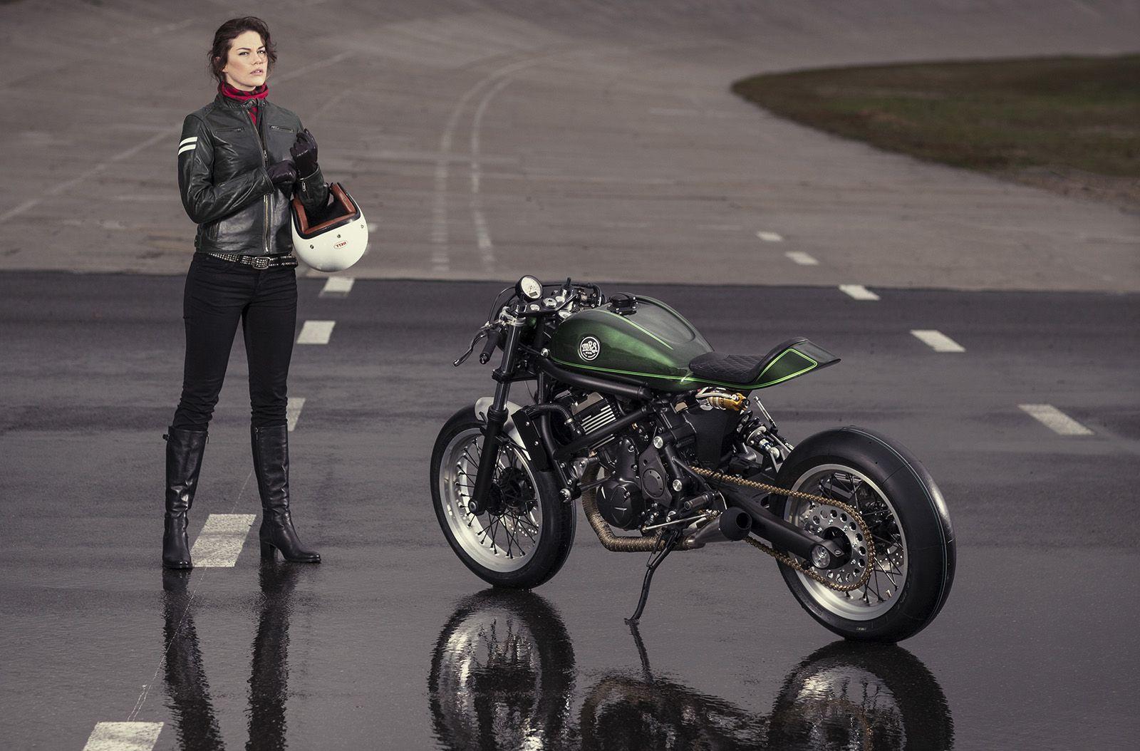 Kawasaki Vulcan S Cafe Racer By MRS Oficina Impresionante El Trabajo Que Han