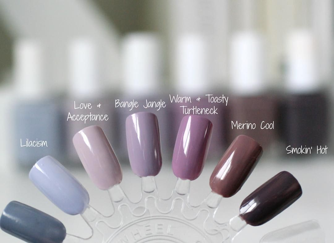 Check out my blog www.essieenvy.com to see all these gorgeous grey ...