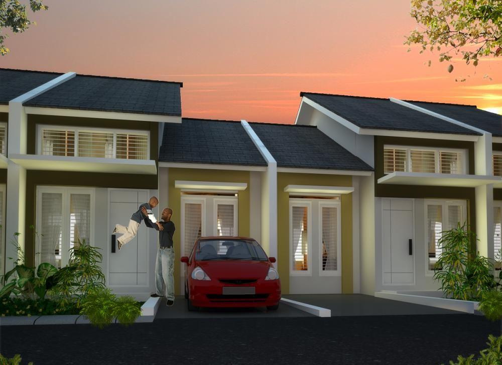 model kecil  sederhana  tampak depan rumah  minimalis
