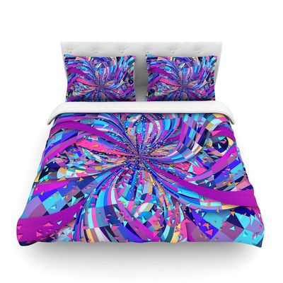 East Urban Home Flavours Explosion by  Danny Ivan Featherweight Duvet Cover Size: Full/Queen