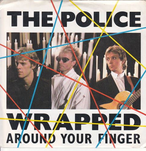 "Police / Wrapped Around Your Finger / Tea In The Sahara / 7"" 45 & Picture Sleeve"