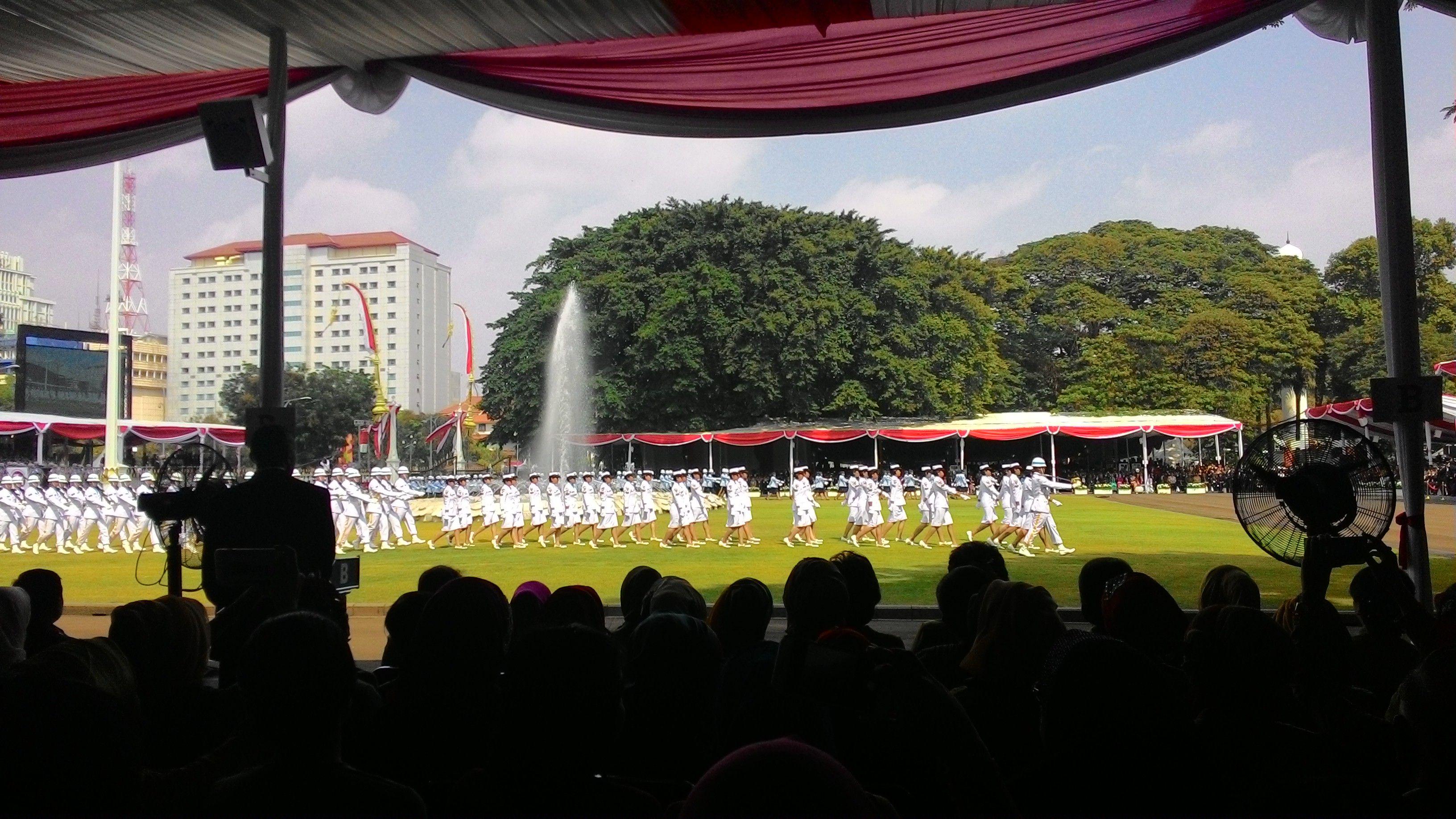70 Tahun Telah Merdeka Ini Mimpi Anak Anak Indonesia Pembacaan puisi Mimpi Anak Indonesia turut mewarnai upacara peringatan detik detik proklamasi di