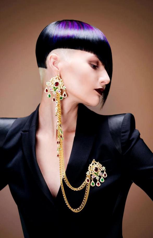 Future Fashion Pavel Okhapkin futuristic fashion purple