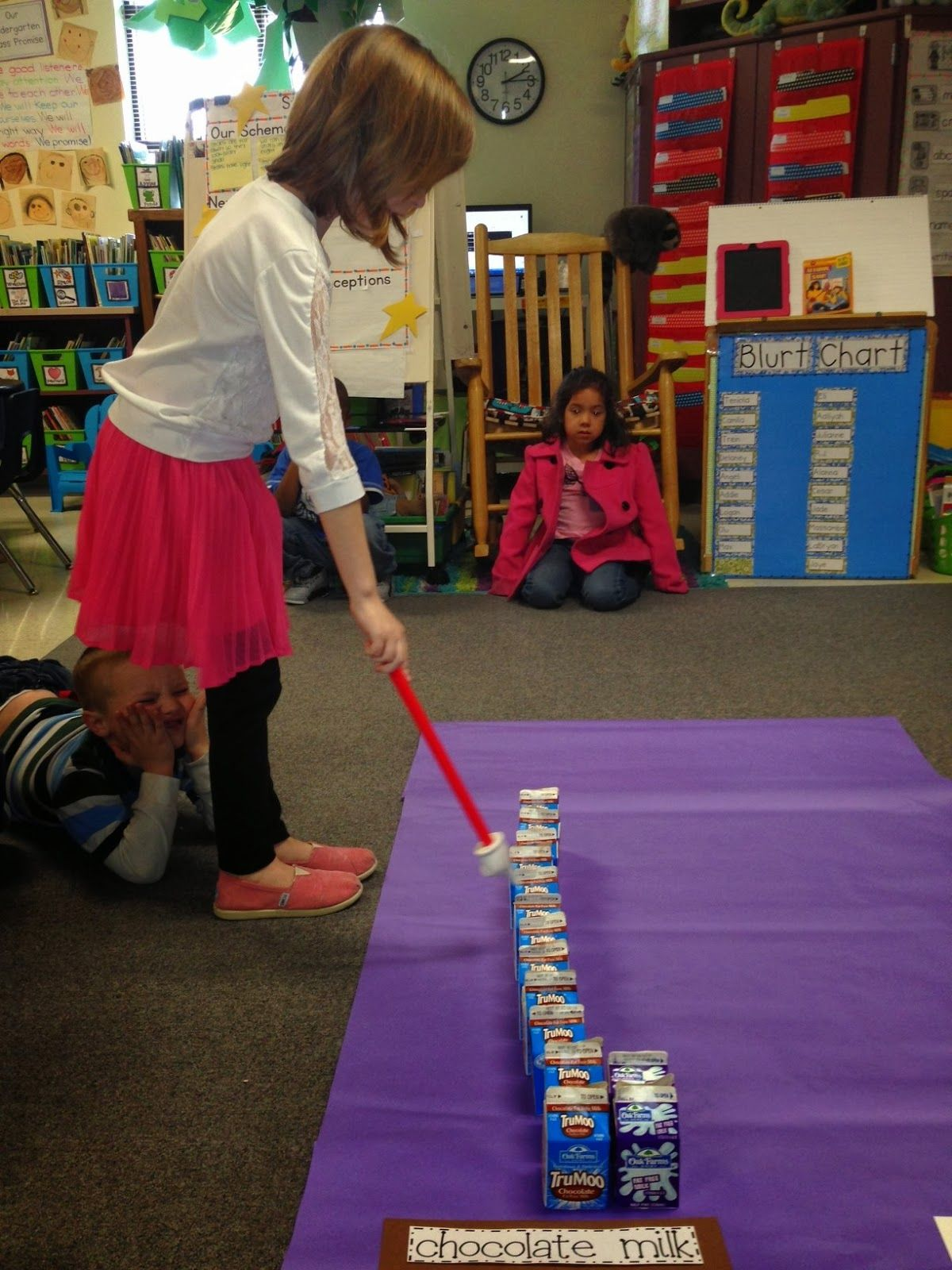 K 8 B A Kindergarten B Create Real Object Graphs C With Collected Data On Milk Preferences
