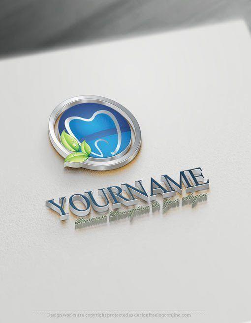 design free logo dental tooth logo template wonderful health