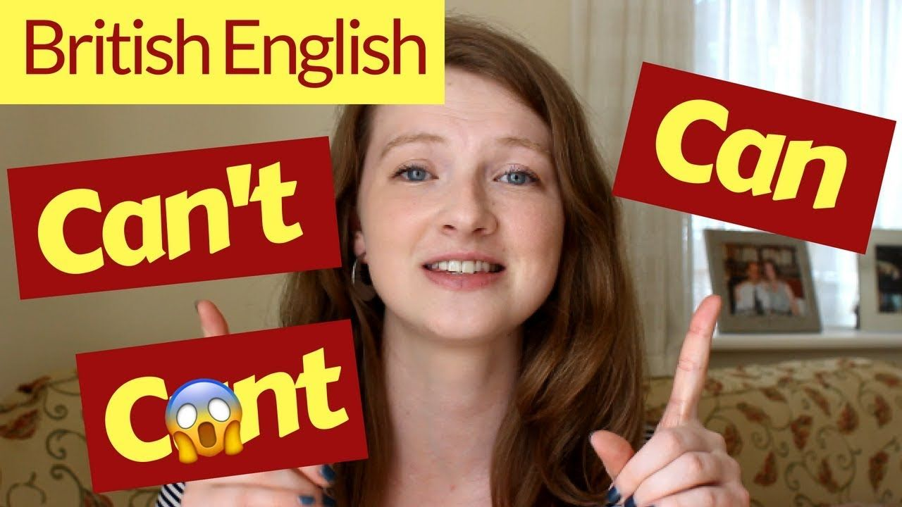 How to pronounce can and cant in british english