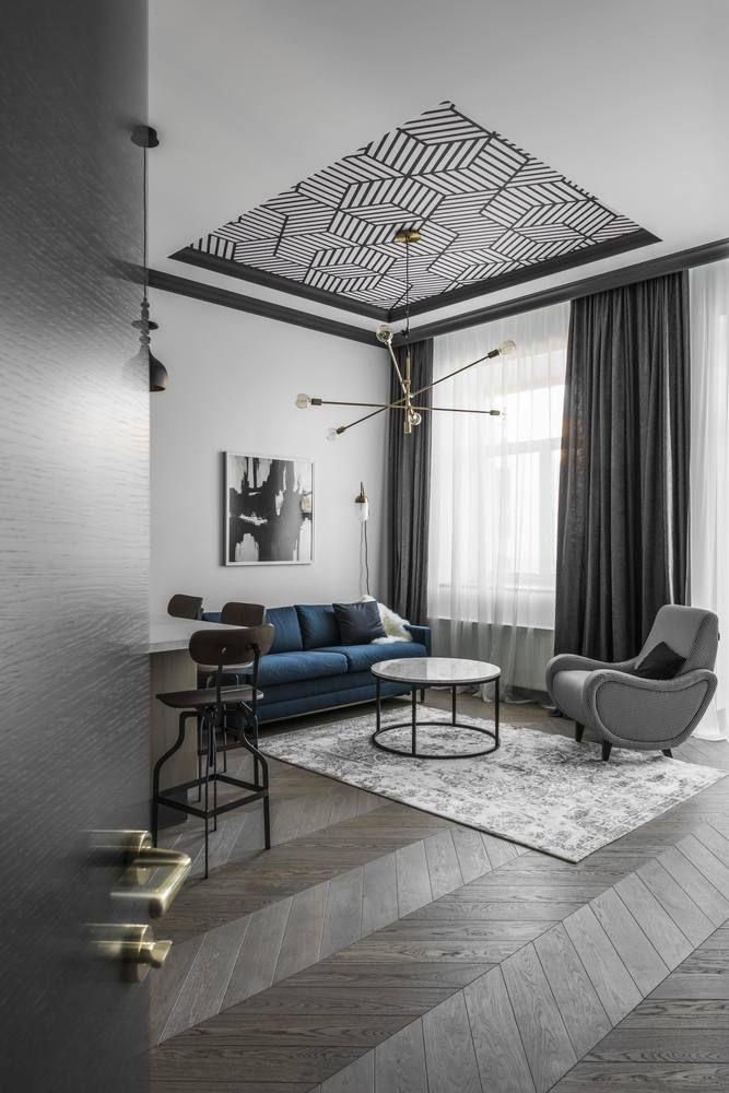 Gallery of apartment in vilnius old town interjero architektūra 9