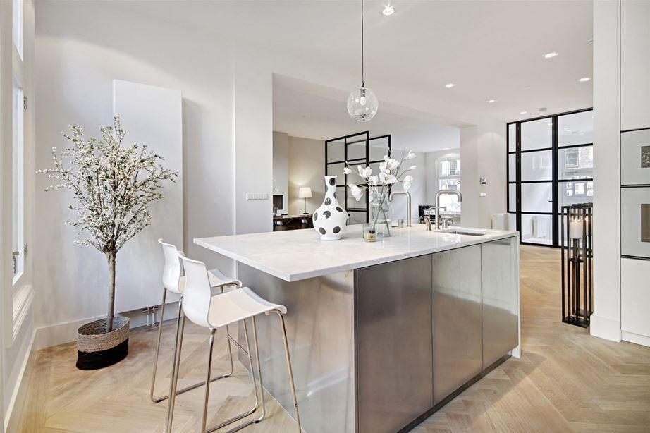 Moderne klassieke woonkamer keuken inspiratie pinterest keuken
