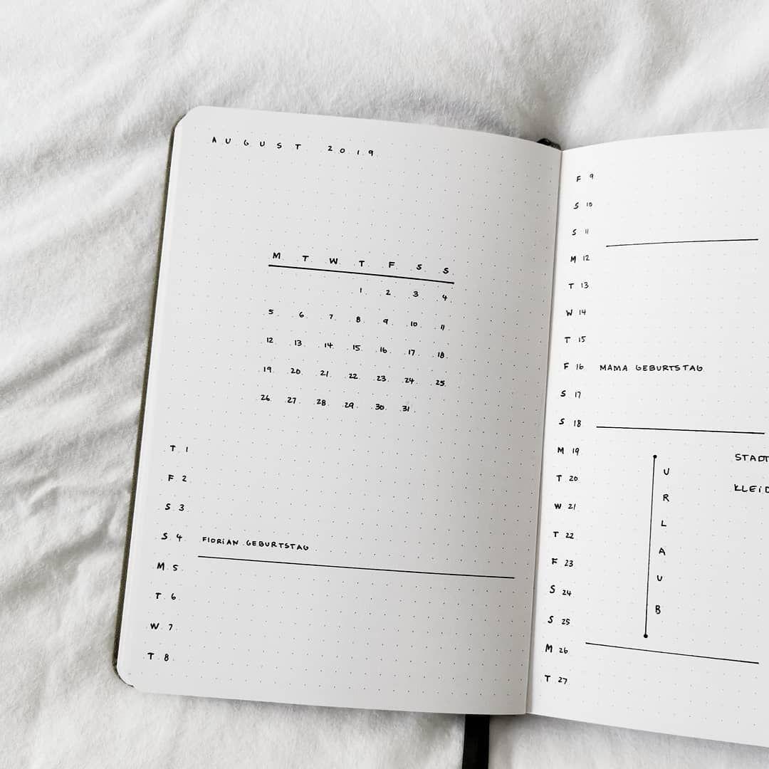 Nun Ist Es Mitte September Nebenbei Auch Noch Einer Meiner Lieblingsmonate Und Die Hochzeit Meiner Eltern Uberstanden Bullet Journal Minimalist Bullet Journal
