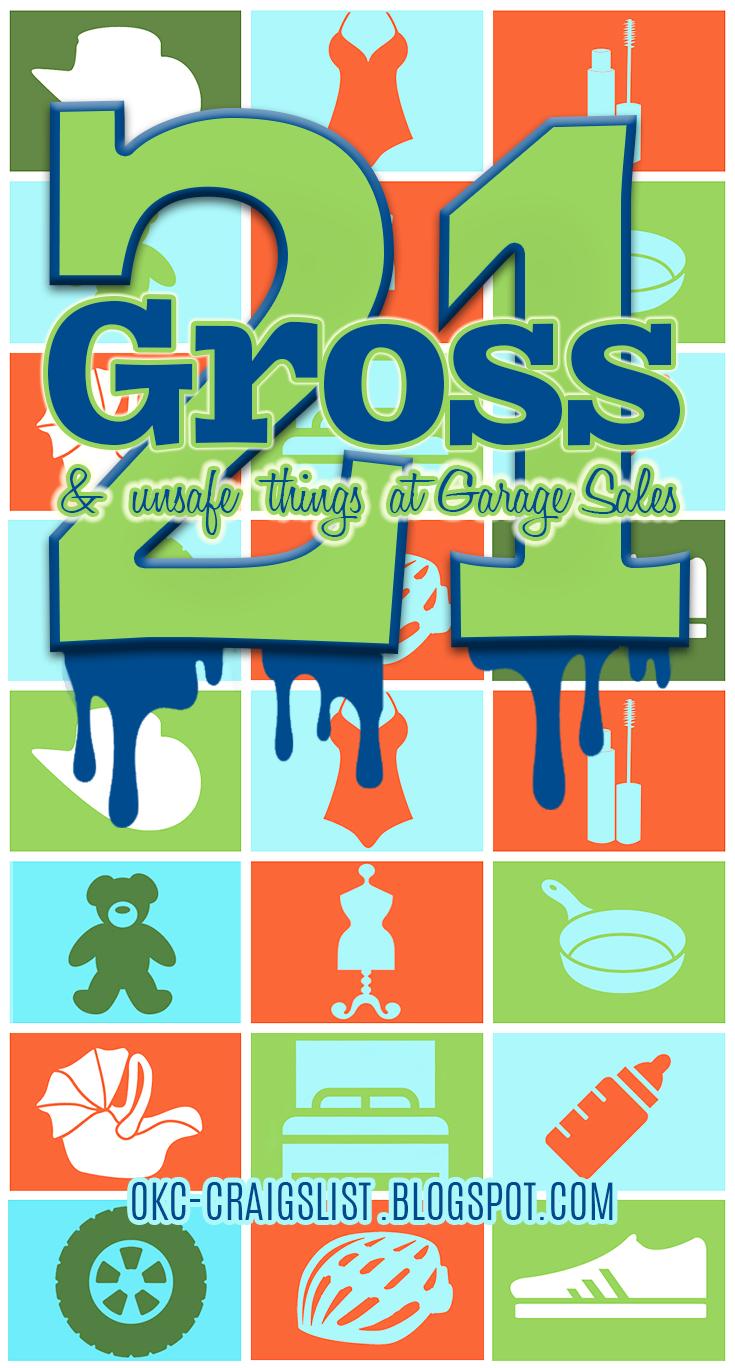 Ewww GROSS! You got that at a garage sale?! | Tips 4 Garage
