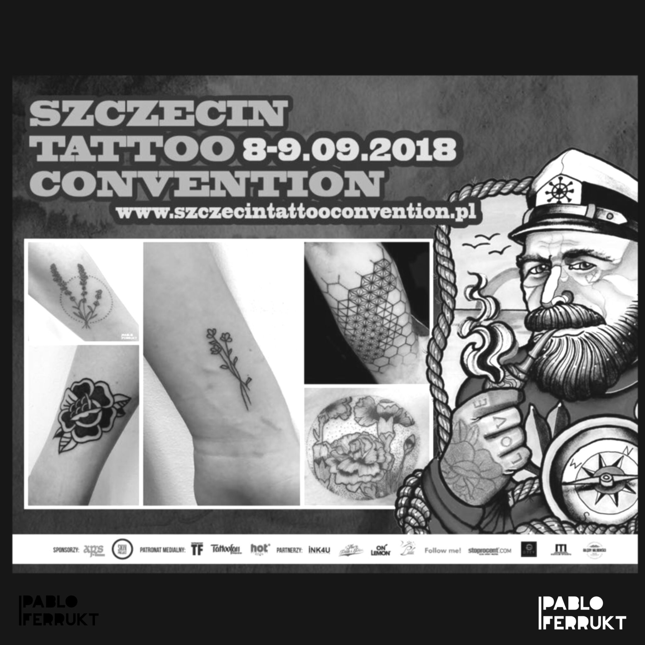 I will be attending the @szczecintattoo convention 08-09.09 (Stettin, Poland) Write me your ideas at pabloferrukt@icloud.com or just pick one of my flashes. I will give special price for people who wants big tattoos.  I am till the 19.08 at @lobster.tattoo, (Split, Croatia) ⠀ 📍11-15.09 at @taetowiermanufaktur, (Wuppertal, Deutschland) ⠀ Resident in Berlin at @amor_de_madre_berlin. ⠀ #tattooconvention.⠀ .⠀ .⠀ .⠀  #tattoos #tat #ink #inked #tattooed #tattoist #art #design #instaart #geometrictattoos #walkindwelcomed #tatted #instatattoo #bodyart #tatts #tats #amazingink #tattedup #inkedup⠀ #berlin #berlintattoo #poland #stettin #berlintattoos #tattooflash #szczecin  #wuppertal #splitcroatia⠀