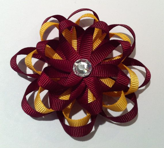 Definitely could make this by hand-- would be great on a clip for little girls hair!