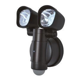 Bronze Integrated Led Motion Activated