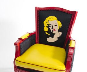 Ltd Edition Recycled and Refurbished Boom Boom Chairs