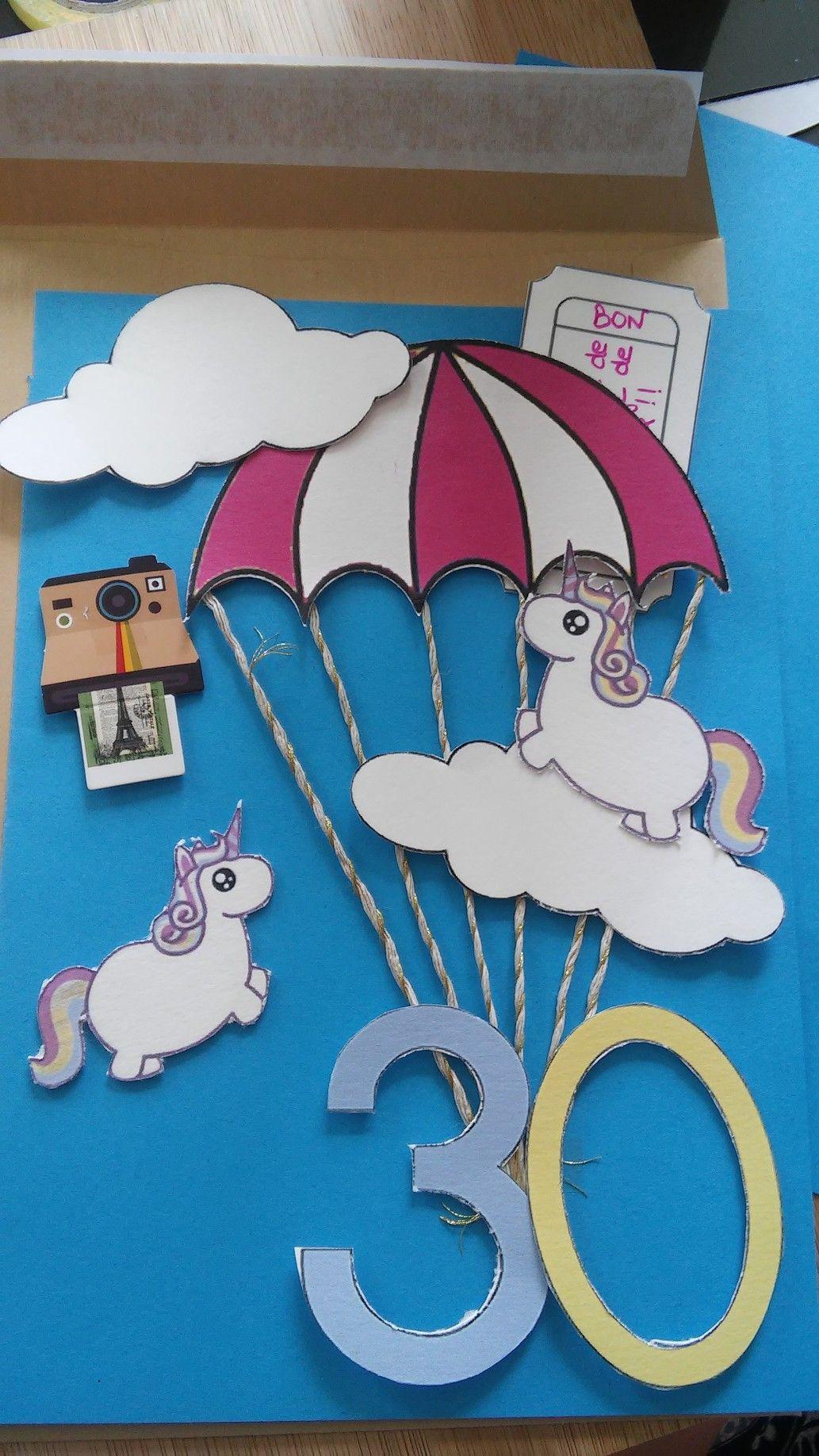 Carte Anniversaire Saut En Parachute.Carte Anniversaire Saut En Parachute Cartes Carte