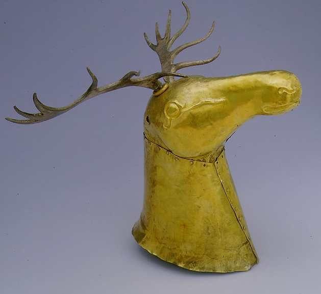 (Russia) Scythian Gold Deer. ca 4th century BCE. Russia.