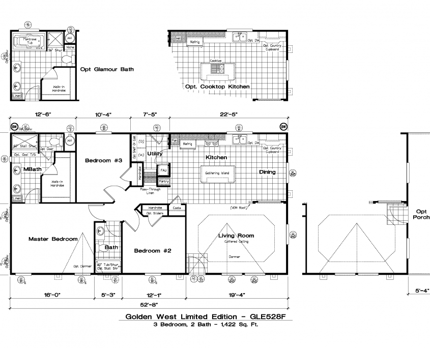Step 2 Waiting On Park Approval Floor Plans Small House Plans Manufactured Home