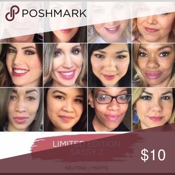 Sassy Z Neutral Matte limited edition lip color SeneGence Makeup Lipstick