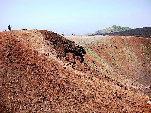 Etna volcano on Sicily