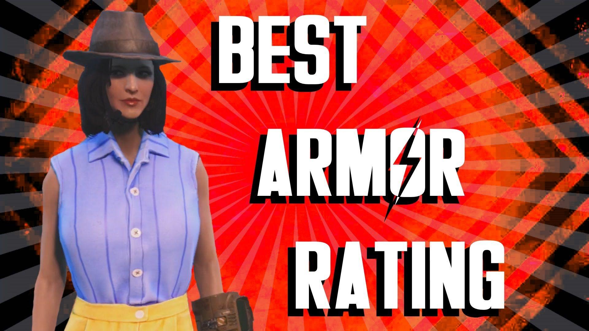 Fallout 4 BEST Armor Rating Ballistic Weave Mod Best