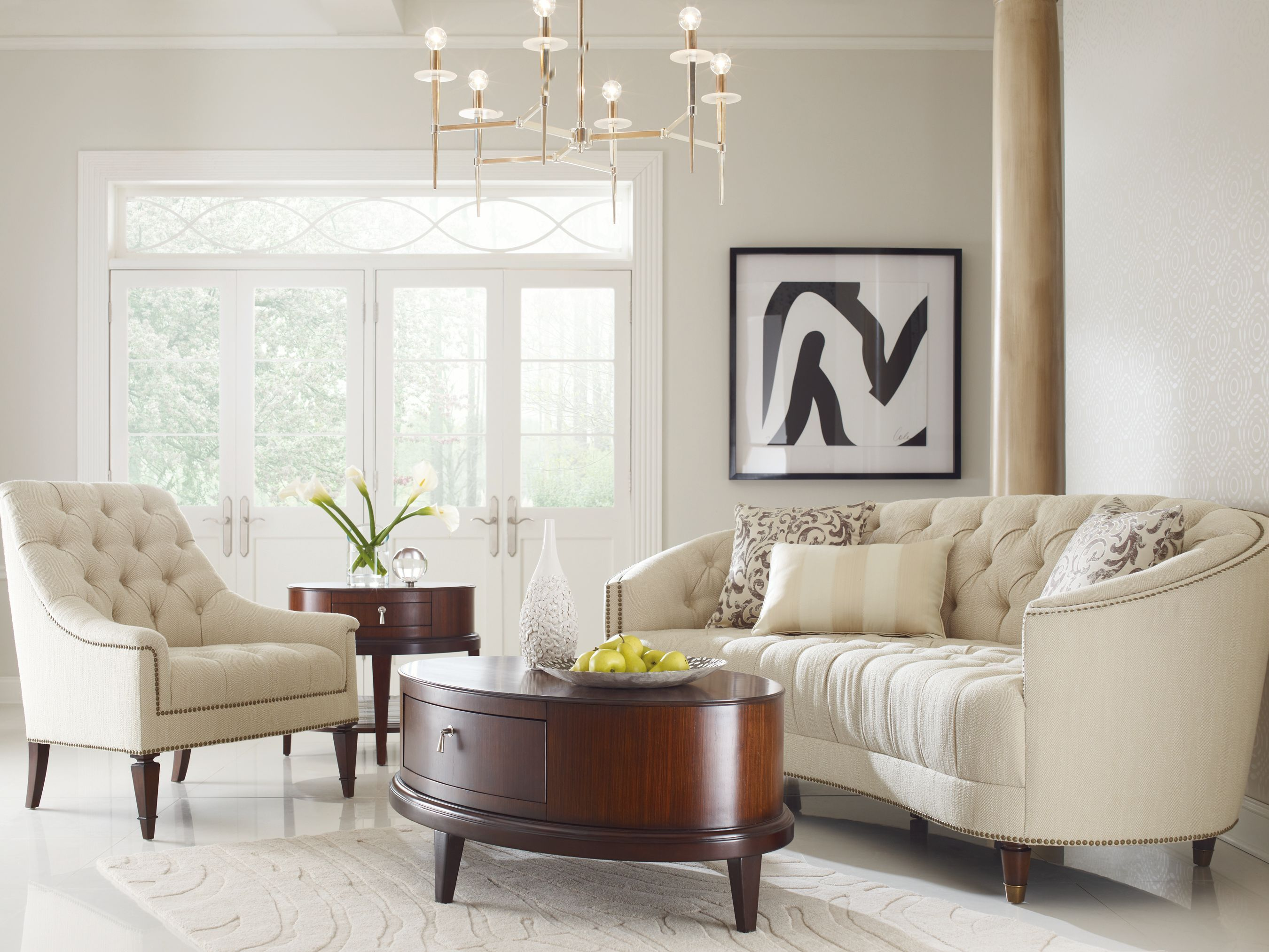 What do you think of this traditional room group? Comment is with your thoughts!  #Furniture #Traditional #Style