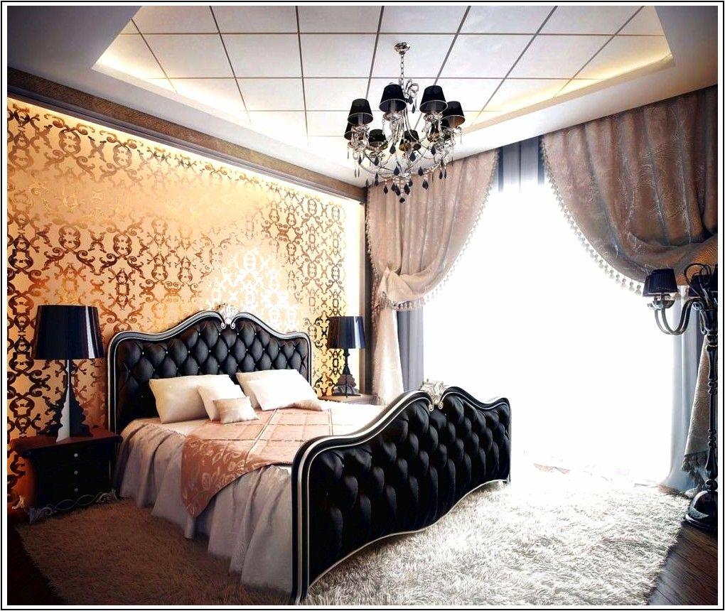15 lussuose camere da letto in nero e oro   Camere da letto ...